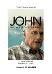John Irving und wie er die Welt sieht - Thimfilm