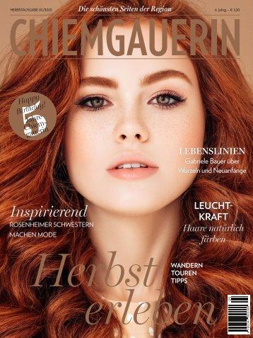 CHIEMGAUERIN Herbstausgabe Zahnmedizin Spezial 2020