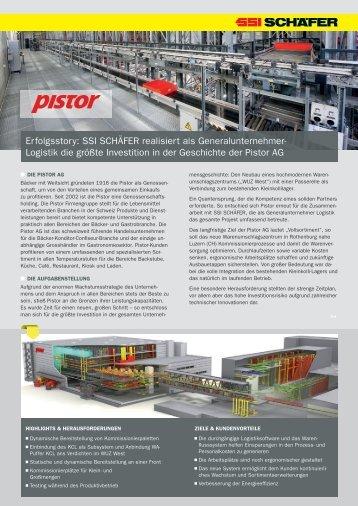 Logistik die größte Investition in der Geschichte der ... - SSI Schäfer