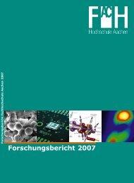 [PDF] Forschungsbericht 2007 - FH-Aachen