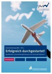 Erfolgreich durchgestartet! - 3 Pi Consulting & Management GmbH