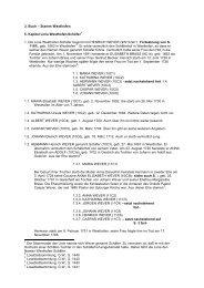 3. Buch – Stamm Westhofen 5. Kapitel Linie Westhofen-Schäfer 1 ...