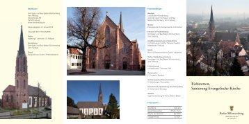 Eichstetten Kirche_8-seitig_2.indd - Universitätsbauamt Stuttgart ...
