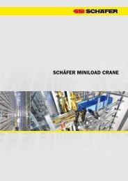 ScHäfer MINIloAd crANe - SSI Schäfer