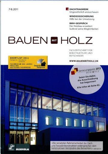 Zum Artikel - Gottfried Lehmann Holzbau