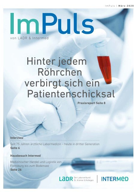 Impuls Das Magazin von LADR & Intermed