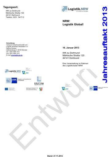 NRW: Logistik Global! - Verband Verkehrswirtschaft und Logistik ...