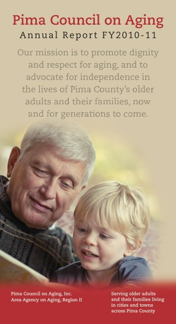 PCOA Annual Report 2010-11.indd - Pima Council on Aging
