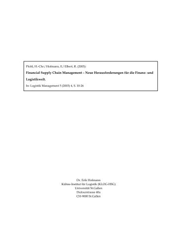 Financial Supply Chain Management.pdf - Alexandria - Universität ...