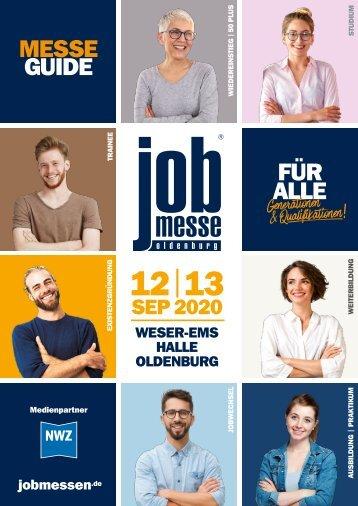 Der MesseGuide zur 14. jobmesse oldenburg