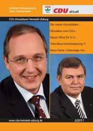 Themen die bewegen - CDU Ortsverband Henstedt-Ulzburg