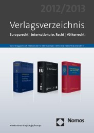 europarecht | Internationales recht - Nomos
