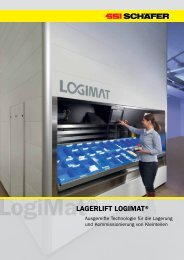 LAGERLIFT LOGIMAT® - SSI Schäfer