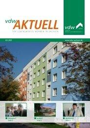 aktuell - vdw Sachsen