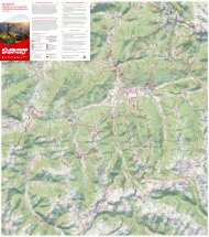 Wanderkarte Salzburger Sportwelt