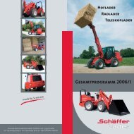 GEsAMtpROgRAMM 2006/I - Hoflader - Teleskoplader - Radlader
