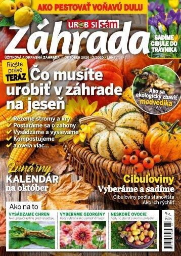 Časopis ZÁHRADA 07/2020