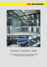 STORAGE SYSTEM R 3000 - SSI Schäfer