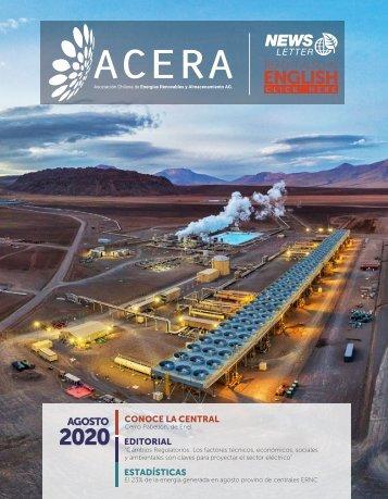 Newsletter ACERA - Agosto 2020