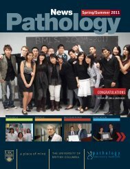 OBER - Pathology and Laboratory Medicine - University of British ...