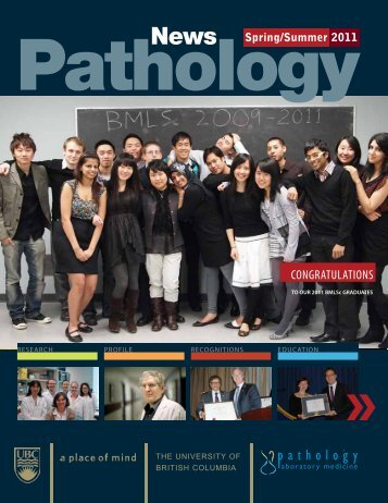 OBER - Pathology and Laboratory Medicine - University of British ...