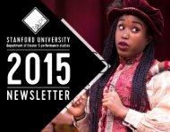 TAPS 2015 Newsletter