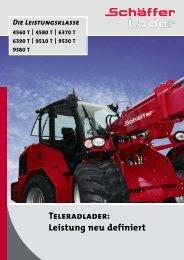 Teleradlader 6370 T / 6390 T - Hoflader - Teleskoplader - Radlader