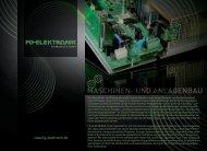 MASCHINEN- UND ANLAGENBAU - FG-Elektronik GmbH