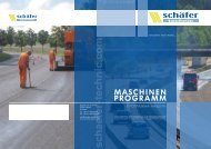 PROGRAMM MASCHINEN - schaefer-technic gmbh