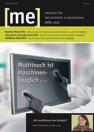 Multitouch ist maschinen- tauglich (S. 10) - download - Beckhoff