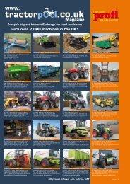 Musterseite Traktorpool - traktorpool-Magazin