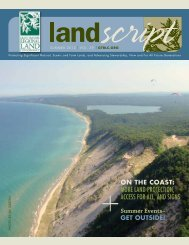 Summer Events– GET OUTSIDE! - Grand Traverse Regional Land ...