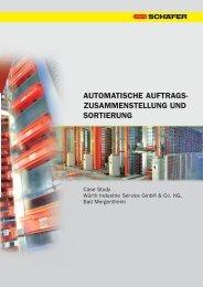 automatische auftrags- zusammenstellung und ... - SSI Schäfer
