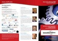 wissen.schafft.werte InnovationsDialog NRW - InnovationsAllianz