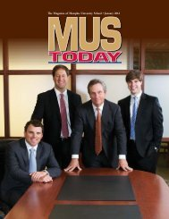 The Magazine of Memphis University School • January 2012