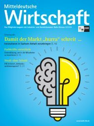 Mitteldeutsche Wirtschaft Ausgabe 09/2020
