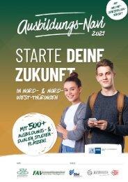 Ausbildungs-Navi für Nord- und Nord-West-Thüringen 2021
