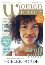WOMAN-INTHECITY MAGAZIN | September/Oktober 2020