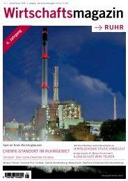 eine Frage des Standorts! - Wirtschaftsmagazin Ruhr