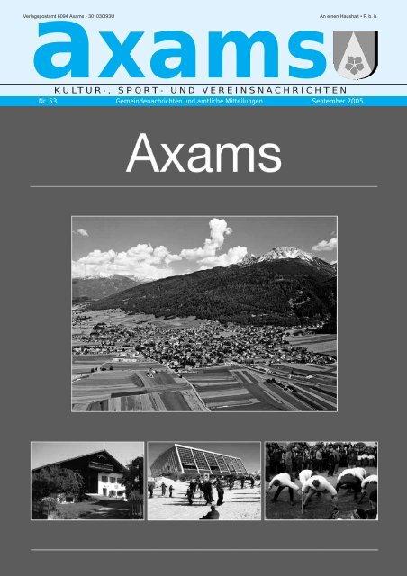 Bekanntschaften in Axams - Partnersuche & Kontakte