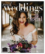 Real Weddings Magazine - Fall20-NEWSSTAND - The Best Wedding Vendors in Sacramento, Tahoe and throughout Northern California are all here