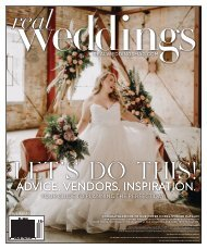 Real Weddings Magazine - Issue #27-F20 - The Best Wedding Vendors in Sacramento, Tahoe and throughout Northern California are all here