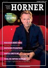 HORNER Magazin | September-Oktober 2020