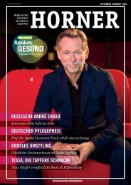 HORNER Magazin | September-Oktober 2020