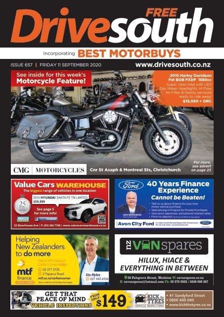 Best Motorbuys: September 11, 2020