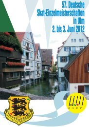 Festschrift des LV 07 zur DEM 2012 - DSkV