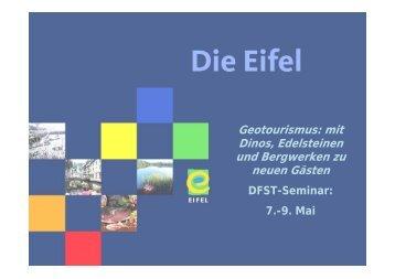 Die Eifel - DSFT Deutsches Seminar für Tourismus Berlin