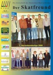 Die Zeitschrift des Deutschen Skatverbandes Skatfreund Der - DSkV