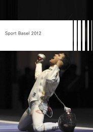 Broschüre Sport Basel