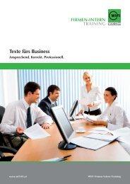 Texte fürs Business